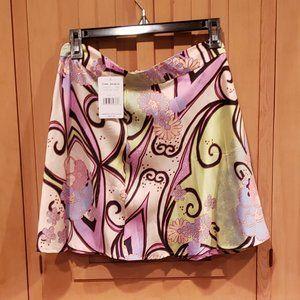 NWT Free People, Retro pattern mini skirt